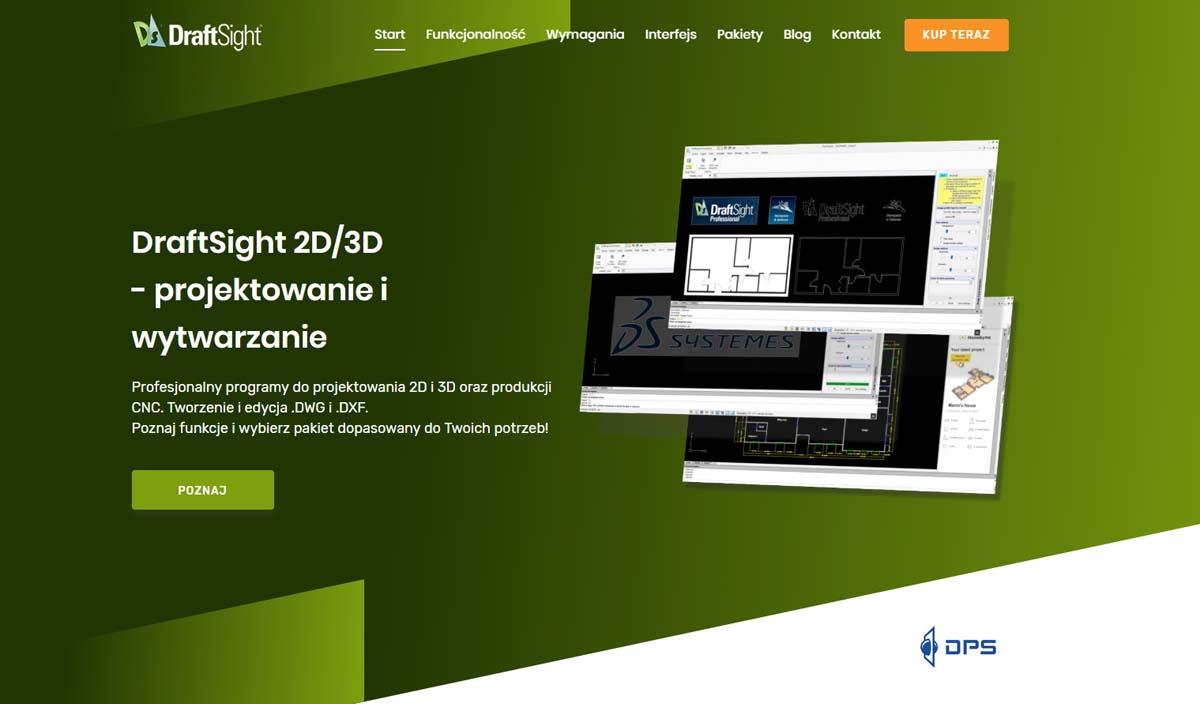 DraftSight 2D/3D - profesjonalny program CAD